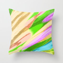 Abstract 242 Throw Pillow