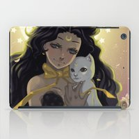 sailormoon iPad Cases featuring Luna by Mika