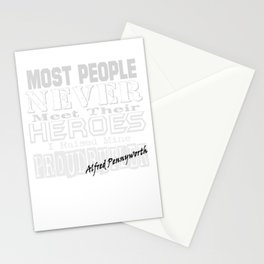 Proud Alfred Stationery Cards