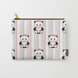 Little kittens. The pattern for children. Carry-All Pouch