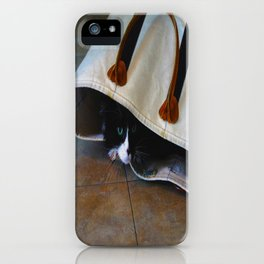 Gracie's Got a Brand New Bag! iPhone Case