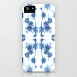 Mirror Dye Blue iPhone Case