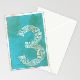 3 Stationery Cards