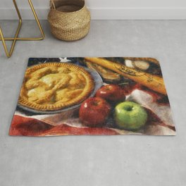 Home Made Apple Pie Rug