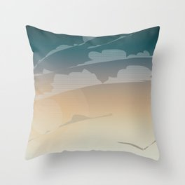 Endless Sky Throw Pillow