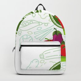 Fruits   Vegetables   Gifts for Vegan   Gifts for Vegetarian   Fruits lover   Love animals   Food Backpack