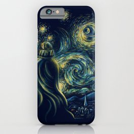 Death Starry Night iPhone Case