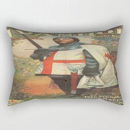 Vintage poster - Ivanhoe Rectangular Pillow