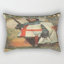 Vintage poster - Ivanhoe Rectangular Pillow