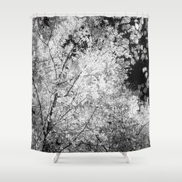 Leaf Glow Shower Curtain