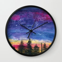 The Zodiac over Sequoia Wall Clock