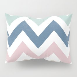 MUTED CHEVRON {COOL TONES} Pillow Sham