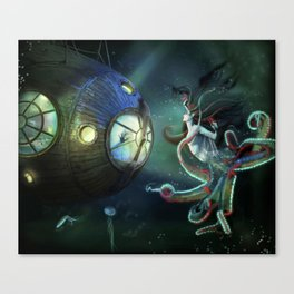 20,000 Leagues Under The Sea Canvas Print