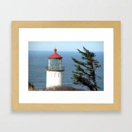Northhead Lighthouse Framed Art Print