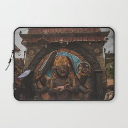 Temples and Architecture of Kathmandu City, Nepal 001 Laptop Sleeve