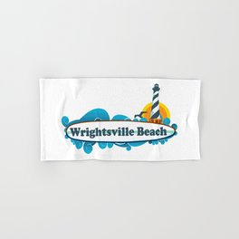Wrightsville Beach - North Carolina. Hand & Bath Towel