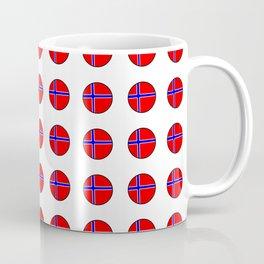 flag of norway 13 – polka dot version Coffee Mug