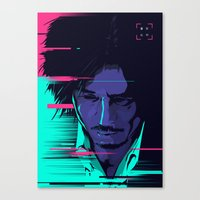 movie poster Canvas Prints featuring Oldboy - Alternative movie poster by FourteenLab