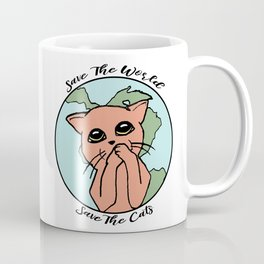 Save The Cats Coffee Mug