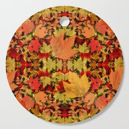 Leaves all Around Cutting Board