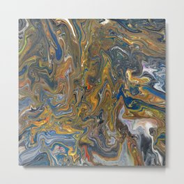Abstract Oil Painting 23 Metal Print