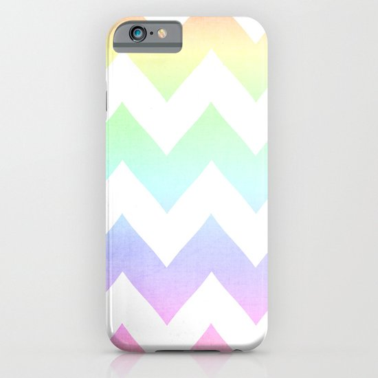 Watercolor Chevrons iPhone & iPod Case