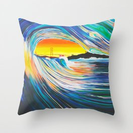 To the Gate Throw Pillow