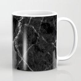 Marble Black Coffee Mug