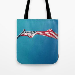 NEW WAVE OLD GLORY Tote Bag