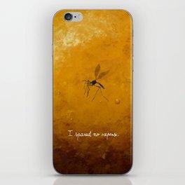 Jurassic Park - mosquito iPhone Skin