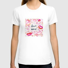 Love Yourself More #inspirational #society6 #decor T-shirt