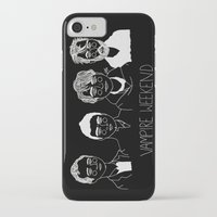 vampire weekend iPhone & iPod Cases featuring Vampire Weekend (Inverted) by ☿ cactei ☿
