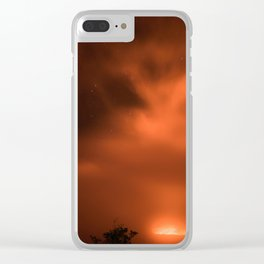 Volcanos National Park 6 Clear iPhone Case