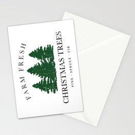 Farm Fresh Christmas Trees Stationery Cards