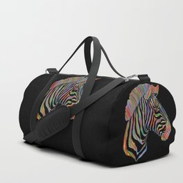 Fantasy Zebra Duffle Bag