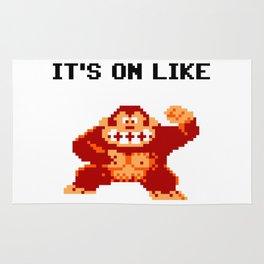 It's On Like Donkey Kong Rug