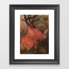 Monarch of Autumn Framed Art Print