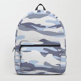 Pastel Blue Dusk Surprise Camo Backpack