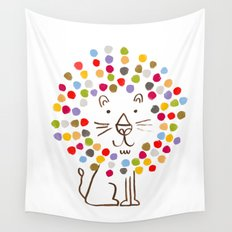 Dandy Lion Wall Tapestry
