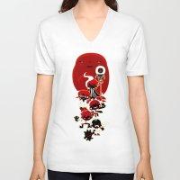 manga V-neck T-shirts featuring Manga family! by LuisD