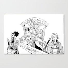 Fire Emblem Awakening Ink  Canvas Print