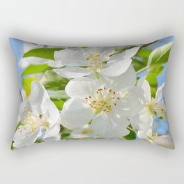 Apple Blossoms | Nadia Bonello Rectangular Pillow