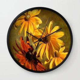 Sunshine in my Garden Two Wall Clock
