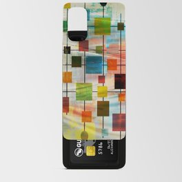 Mid-Century Modern Art 1.3 -  Graffiti Style Android Card Case