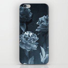 Blue Peonies iPhone Skin