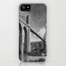 Menai Suspension Bridge iPhone Case
