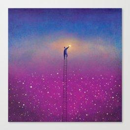 One Stars Canvas Print