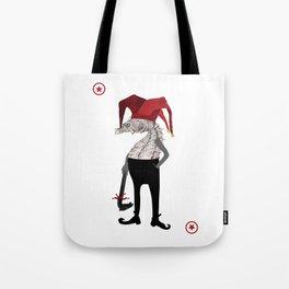 Red Joker Tote Bag