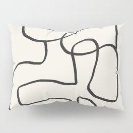 Abstract line art 15 Pillow Sham