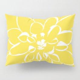 Dahlia Buttercup Pillow Sham